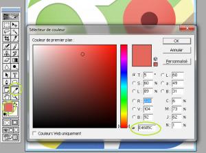 Trouver couleur